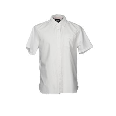 ステューシー STUSSY シャツ ホワイト L コットン 100% シャツ