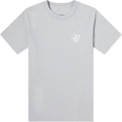 ブロンズ 56K Bronze 56k メンズ Tシャツ ロゴTシャツ トップス Vx B Logo Tee Silver