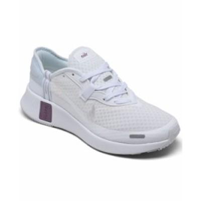 ナイキ レディース スニーカー シューズ Women's Reposto Running Sneakers from Finish Line White