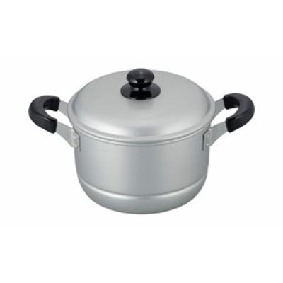 舞楽 アルマイト加工両手兼用鍋20cm MR-7588