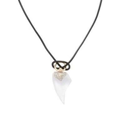 アレクシスビタール レディース ネックレス Lucite Encrusted Thorn Pendant Necklace