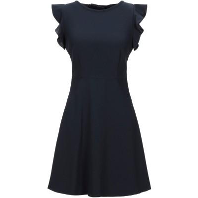 CLAUDIE PIERLOT ミニワンピース&ドレス ダークブルー 36 ポリエステル 100% ミニワンピース&ドレス