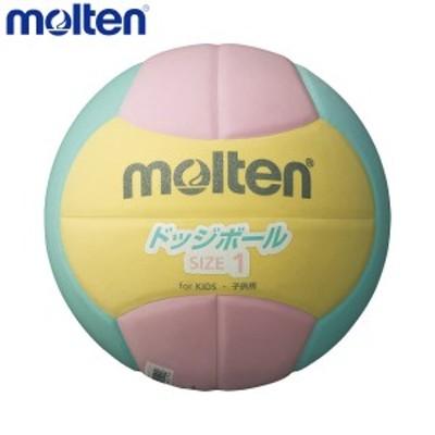 molten/モルテン D1S2200-YL ドッジボール ボール ドッジボール2200 軽量1号 ピンク×イエロー×ライム D1S2200-YL