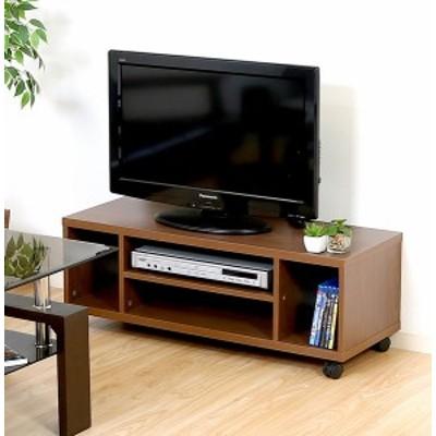 テレビ台 おしゃれ 安い 北欧 ローボード テレビボード TV台 テレビラック TVボード TVラック 収納 多い ブラウン 幅89 奥行35 高さ33