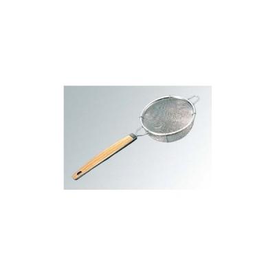 茶漉 木目PC柄 中 ダブル φ75mm 18-8 ビクトリー