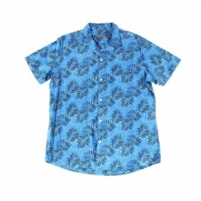 Slate & Stone スレート&ストーン ファッション アウター SLATE & STONE NEW Blue Men Large L Tropical Print Button Down Shirt