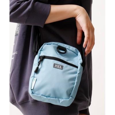 FUNALIVE / 【MEI】ワンポイントロゴ メッシュポケット ミニショルダーバッグ MEN バッグ > ショルダーバッグ