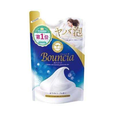 バウンシアボディソープ ホワイトソープの香り 詰替用 400ml  - 牛乳石鹸共進社