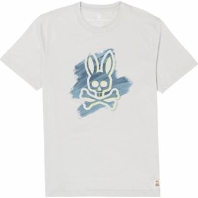 サイコバニー PSYCHO BUNNY メンズ Tシャツ トップス Tonbridge Graphic Tee White
