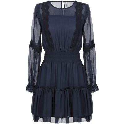 ペペ ジーンズ PEPE JEANS ミニワンピース&ドレス ダークブルー S ポリエステル 100% ミニワンピース&ドレス
