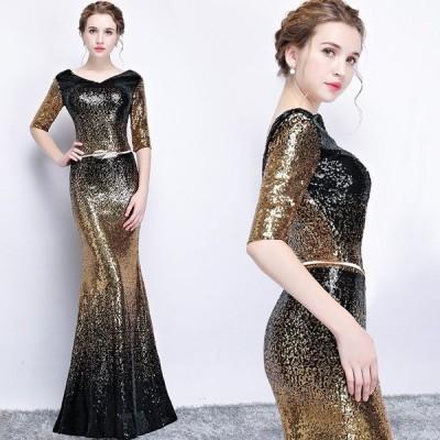 送料無料ロングドレス結婚式大きいサイズパーティードレス20代30代40代パーティドレスワンピース二次会ドレスウェディングドレスお呼ばれドレスkbilj496
