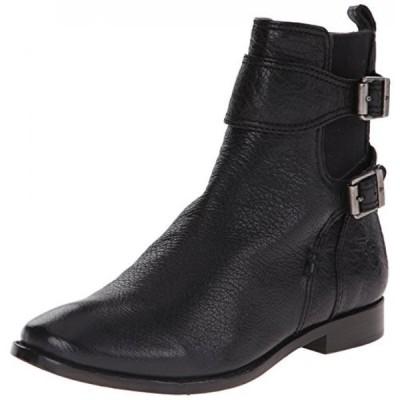フライ レディース ブーツ FRYE Women's Anna Gore Short Buffalo Leather Boot