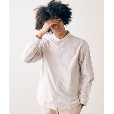 【選べる柄と選べるサイズ】レギュラーカラーストライプシャツ【雑誌掲載アイテム】