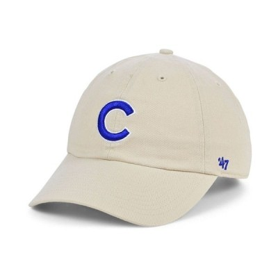 47ブランド 帽子 アクセサリー メンズ Chicago Cubs Bone Clean Up Cap Natural