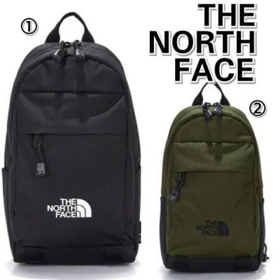 THE NORTH FACE ノースフェイス 新作 TRAVEL ONEWAY ロゴ ボディバッグ 黒 緑 メンズ レディース