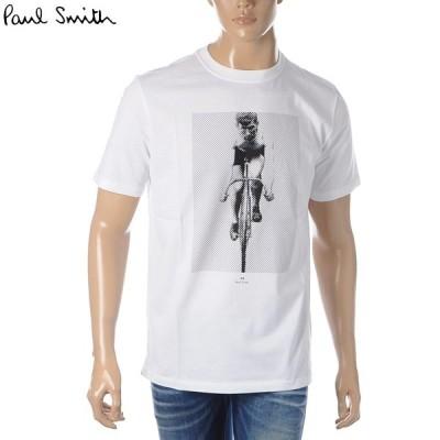 ポールスミス PAUL SMITH クルーネックTシャツ 半袖 メンズ M2R 011R AP1891 ホワイト
