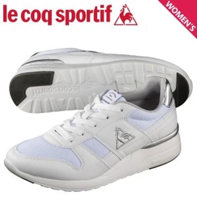 ルコック スポルティフ le coq sportif LA セーヌ リフト スニーカー レディース LA SEINE LIFT ホワイト 白 QL3NJC07WS