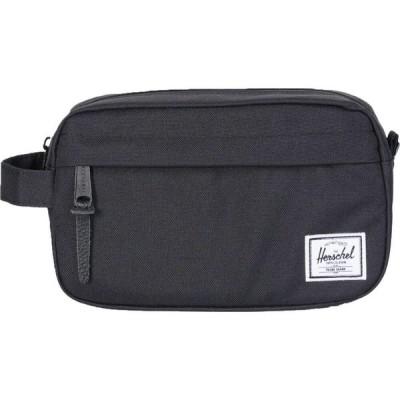 ハーシェル サプライ Herschel Supply Co. メンズ ポーチ トラベルポーチ Herschel Chapter Carry On Wash Bag Black