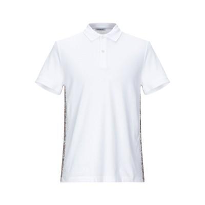ビッケンバーグ BIKKEMBERGS ポロシャツ ホワイト XS コットン 95% / ポリウレタン 5% ポロシャツ