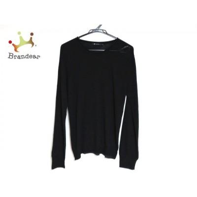 アレキサンダーワン TbyALEXANDER WANG 長袖セーター サイズS メンズ 美品 - 黒 クルーネック 新着 20200602