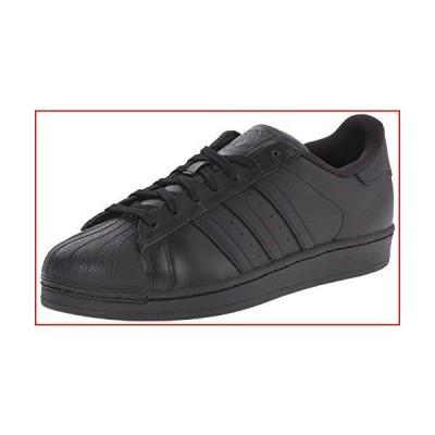 adidas Originals mens Superstar Sneaker, Core Black/Black/Black, 4 US【並行輸入品】