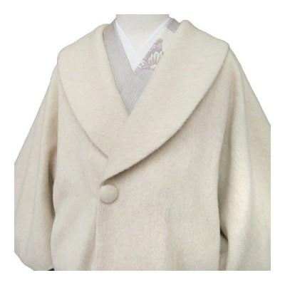 【レンタル】 和装 コート 貸衣装 防寒 レディース 日本製 アルパカ混 フォーマル カジュアル ベージュ フリーサイズ co0233s