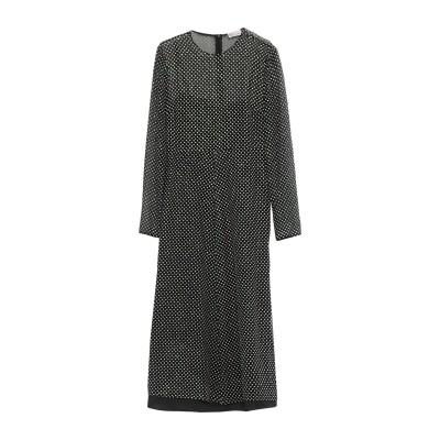 レッド ヴァレンティノ REDValentino 7分丈ワンピース・ドレス ブラック 36 ポリエステル 100% 7分丈ワンピース・ドレス