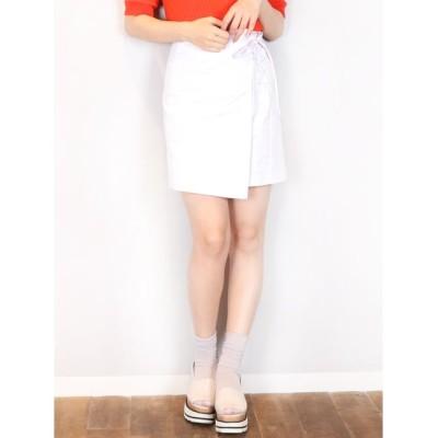 【ダズリン/dazzlin】 【S】コンパクトラップスカート