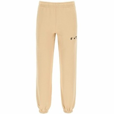 OFF WHITE/オフホワイト Beige Off-white joggers with logo レディース 春夏2021 OWCH006S21JER001 ik