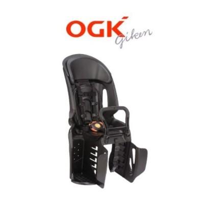 1点限り レインカバー付き OGK ヘッドレスト付コンフォートリヤチャイルドシート RBC-011DX3 ブラック/ブラック