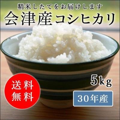 ※このままでは収穫予定の新米が倉庫に入らないため特別価格です!!令和2年産 会津産コシヒカリ 白米 5kg