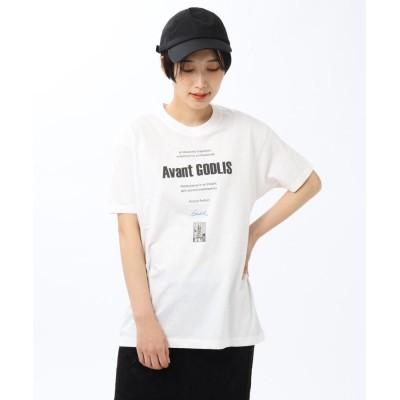 Untit_(アンティット) 【洗える】ゴドリス フォトプリントTシャツ