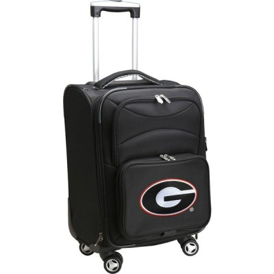 NCAA ユニセックス スーツケース・キャリーバッグ バッグ Spinner Carry On Suitcase Georgia Bulldogs