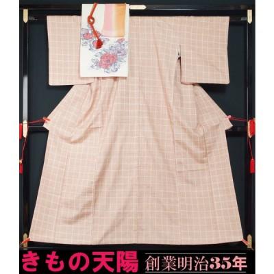 紬4点セット 染め紬 八寸名古屋帯 帯揚げ〆 送料無料 中古  リサイクル着物