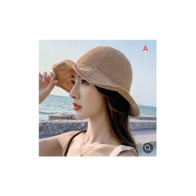 日よけ綿麻日焼け止め文芸太陽帽子WSXB186