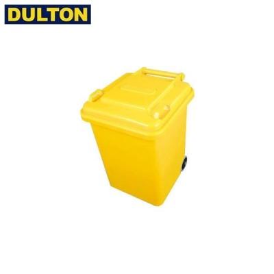 DULTON プラスチック トラッシュカン 18L イエロー (品番:100-195YL) ダルトン インダストリアル アメリカン ヴィンテージ 男前