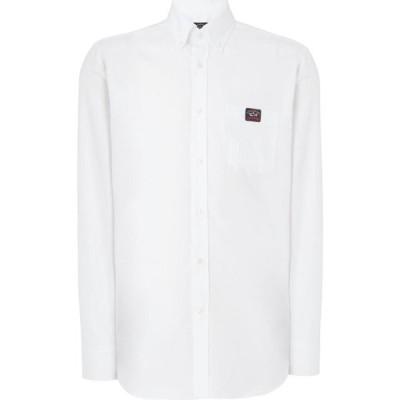 ポール シャーク PAUL AND SHARK メンズ シャツ トップス Button Down Long Sleeve Shirt White