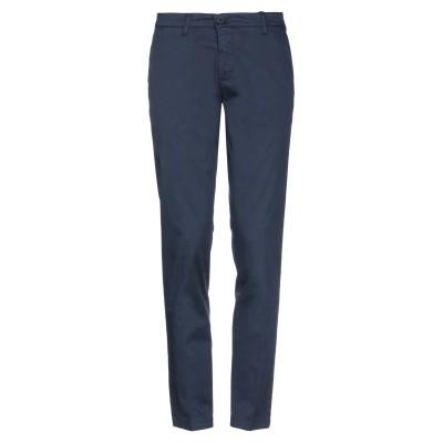 TRUSSARDI COLLECTION パンツ ブルー 50 コットン 98% / ポリウレタン 2% パンツ