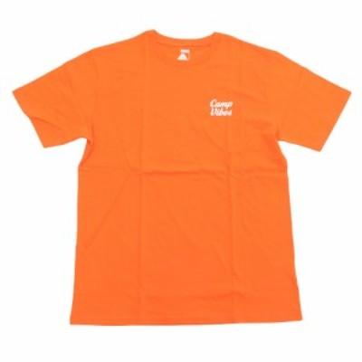 ポーラー(POLER)CAMP VIBES Tシャツ 55200045-ORG(Men's)