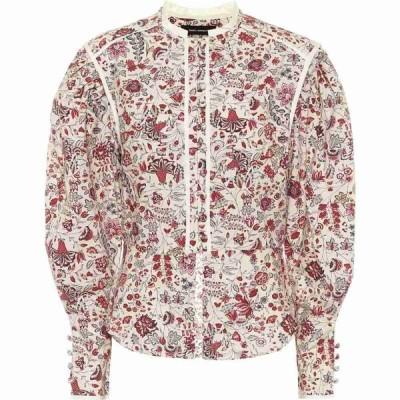 イザベル マラン Isabel Marant レディース ブラウス・シャツ トップス Cleosi Floral Cotton Blouse Ecru