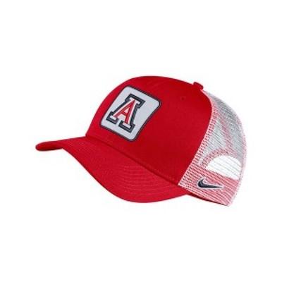 ナイキ メンズ 帽子 アクセサリー Arizona Wildcats Patch Trucker Cap Red/White