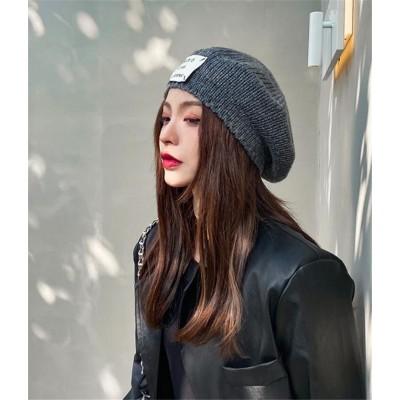 ♡ギフトや自分へのご褒美に♡ニット 帽子 女性 秋 冬 暖かい 韓国 ファッション 百掛け レトロ ベレー帽 折りたたみ式