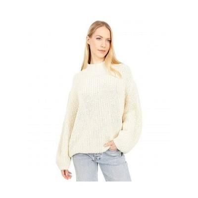 RVCA ルーカ レディース 女性用 ファッション セーター Fitz Sweater - Birch