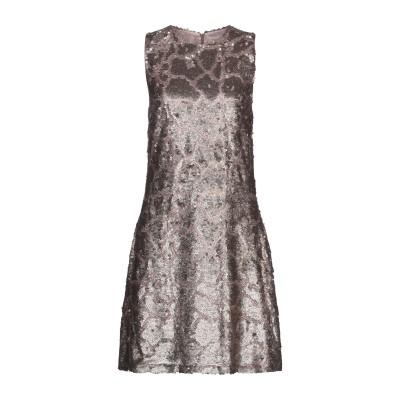 SLY010 ミニワンピース&ドレス ブロンズ 36 ポリエステル 100% / アセテート ミニワンピース&ドレス