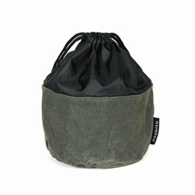 asobito(アソビト) OD缶ケース オリーブ 巾着 収納 ガス缶 トイレットペーパー 防水 頑丈 9号綿帆布 アウトドア