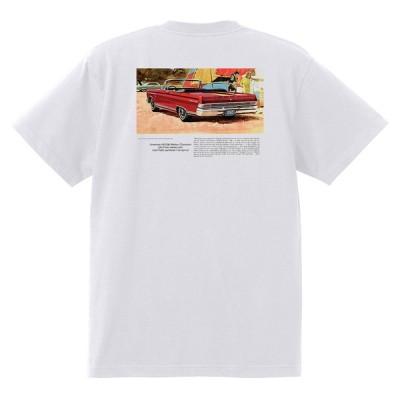 アドバタイジング マーキュリーTシャツ 白 1173 黒地へ変更可 1965 モントレー クーガー パークレーン ホットロッド レトロ
