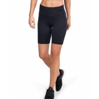 アンダーアーマー レディース ハーフパンツ・ショーツ ボトムス Women's Meridian Bike Shorts Black /  / Metallic Silver