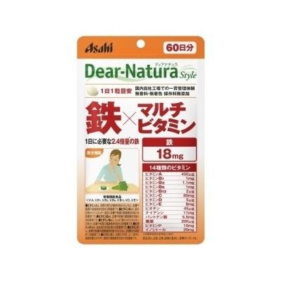 ディアナチュラ パウチ 鉄×マルチビタミン 60日分【当日つく徳島】