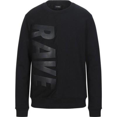 レゾム LES HOMMES メンズ スウェット・トレーナー トップス Sweatshirt Black