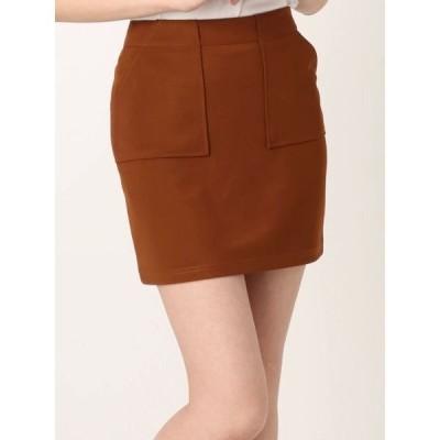 スカート BOXYポケットミニスカート